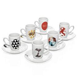 Set café expreso porcelana