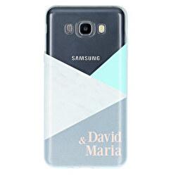 Funda silicona transparente Samsung Galaxy J7 (2016)