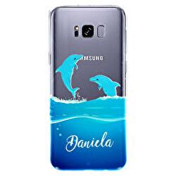 Funda silicona transparente Samsung Galaxy S8