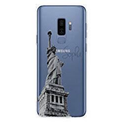 Funda silicona transparente Samsung Galaxy S9 Plus