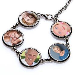 PULSERA FAMILY 5 CIRCLES