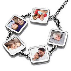 Pulsera family 5 squares