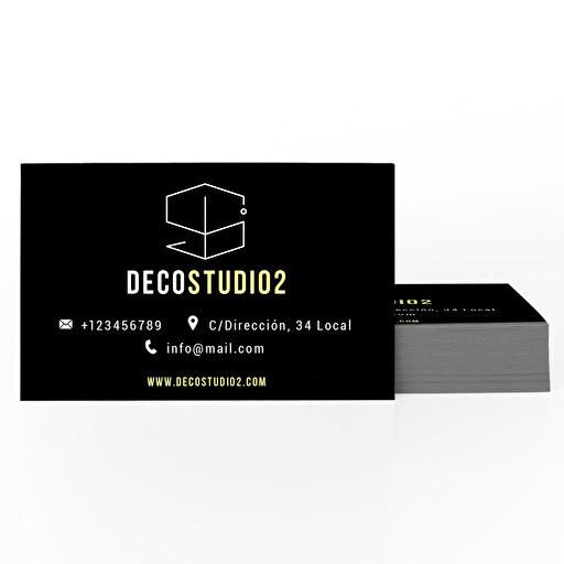 Tarjetas de visita adhesivas (pack 100)