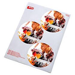 Etiquetas adhesivas cd y dvd (pack x3)