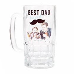 Jarra cerveza cristal