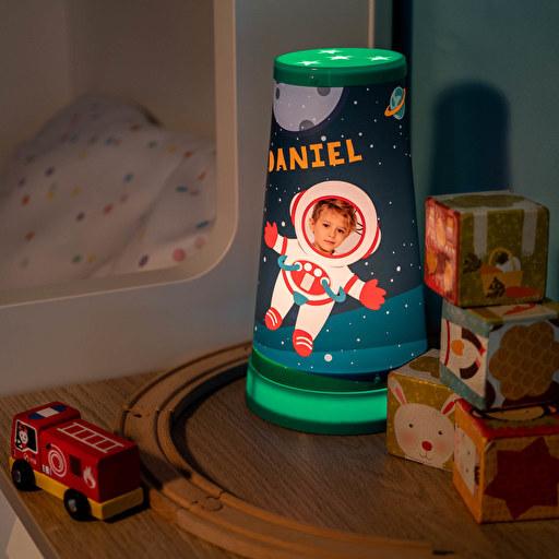 Lámpara infantil colores