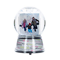Royal snow globe