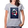 Camiseta algodón mujer Basic 1 cara