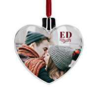 Heart christmas bauble