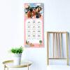 Calendario de pared alargado