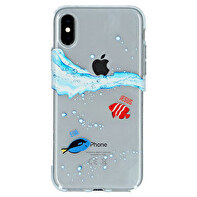 iPhone X / XS silicone transparent case