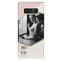 Capa de silicone transparente Samsung Galaxy Note 8