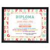 Diploma enmarcado