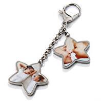 Porte-clé en forme d'étoile