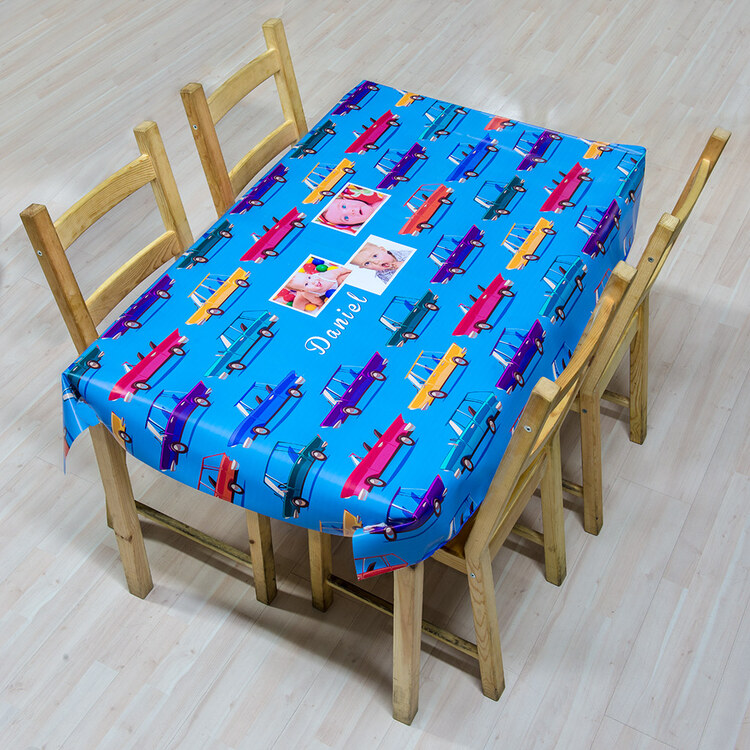 Oilcloth tablecloth 140x140 all personalised blankets for Table 140x140
