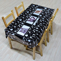 OILCLOTH TABLECLOTH 140X200