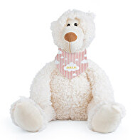 25CM TEDDY BEAR WITH EMBROIDERY