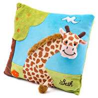 Embroidered 3D baby cushion