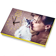 CANVAS PRINT CLOCK 30X45