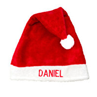 EMBROIDERED CHRISTMAS HAT