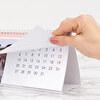 Calendario de mesa rectangular