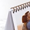 Calendario de mesa cuadrado
