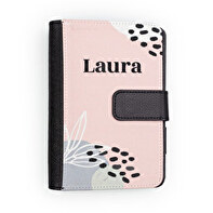 Leatherette agenda with magnetic clasp