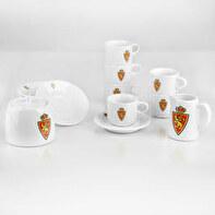 Juego de café porcelana 6 personas (14 piezas)