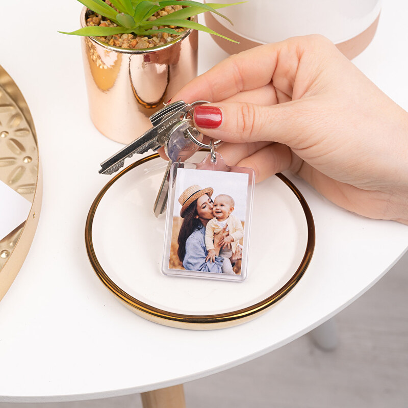 Keyrings with photo