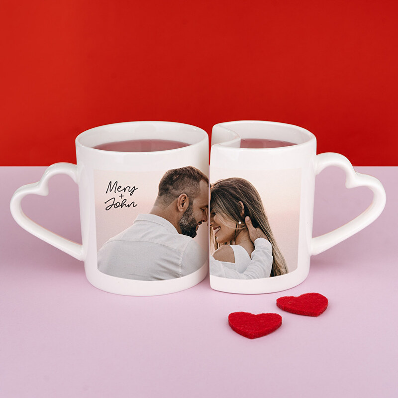 Personalised mug for Valentines Day