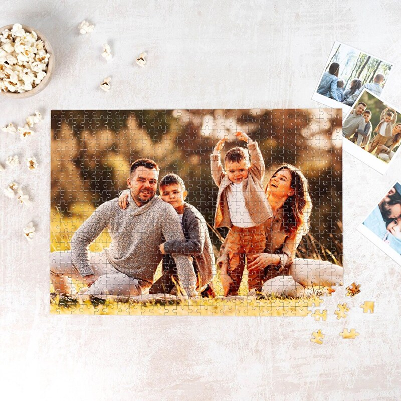 Personalised puzzle with childrens photos