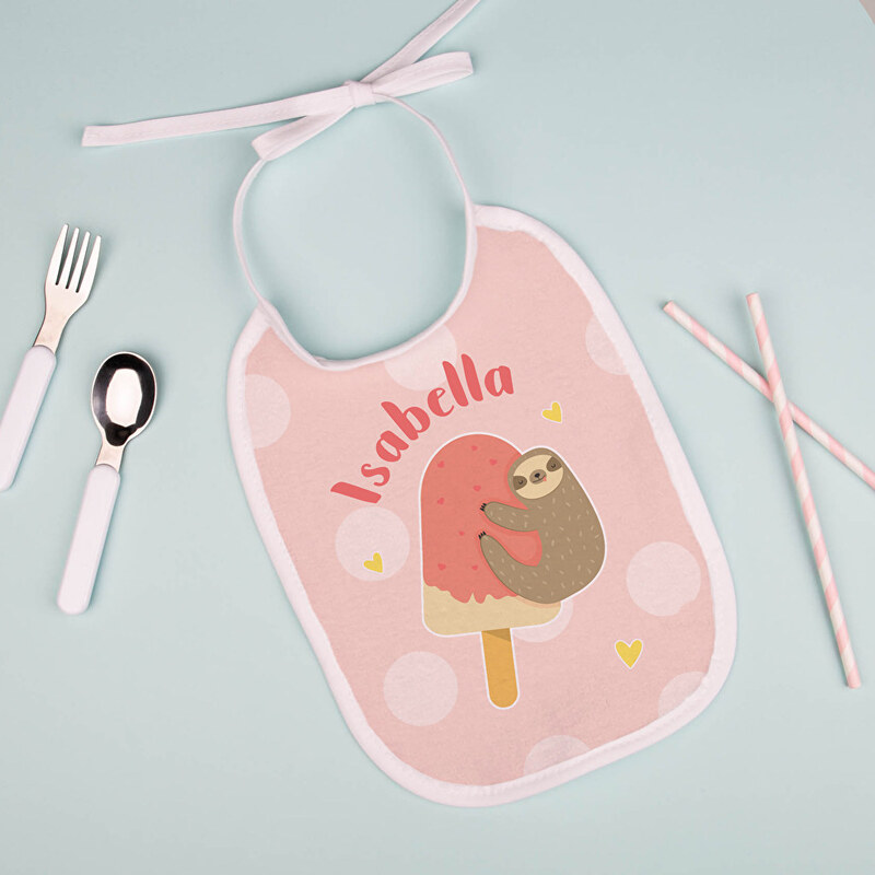 Personalised bibs for baby
