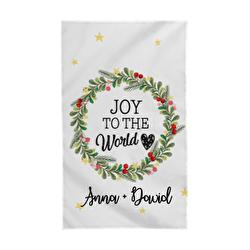 Diseño Christmas crown - Joy to the world