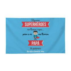 Diseño Super héroe papá