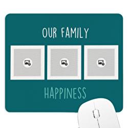 tapis de souris famille