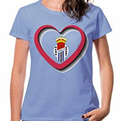 Camiseta algodón mujer...
