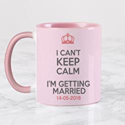 Diseño BRIDE CAN´T KEEP CALM