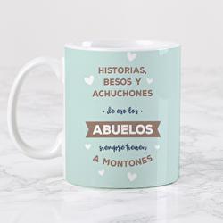 Diseño Historias, besos y achuchones (Abuelos)