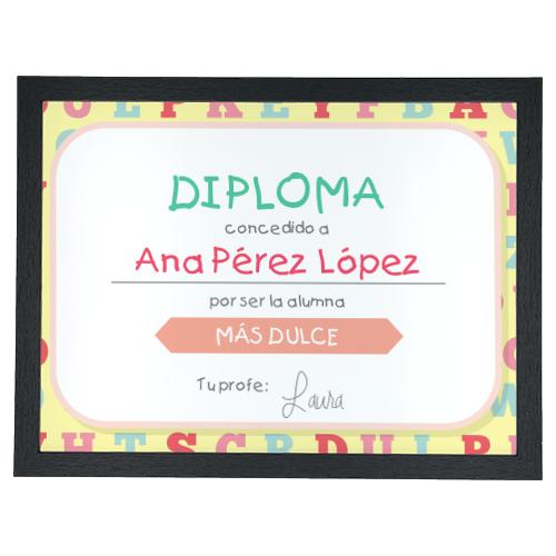 Diplomas para profesores