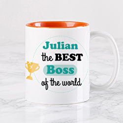 Diseño The best Boss of the world