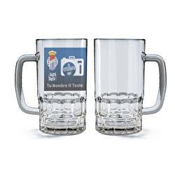 Jarra cerveza cristal Peña...