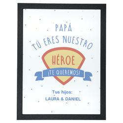 Diseño Papá, eres nuestro héroe (V)