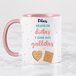 Diseño Déjate de dietas y come más galletas
