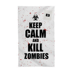 Diseño Keep calm and kill zombies