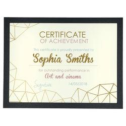 Diseño Certificate 5