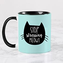 Diseño Stop stressing meowt