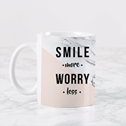 Diseño Marble (Smile more. Worry less.)