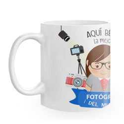 Diseño Profesión Fotógrafa Chica