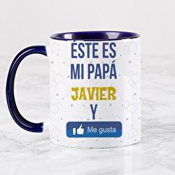 Diseño Mi papá me gusta (redes sociales)