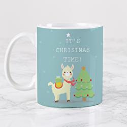 Diseño Christmas Llama